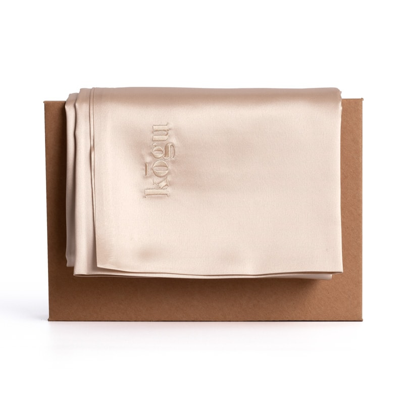 Kogu 22 momme mulberry silk pillowcase with packaging